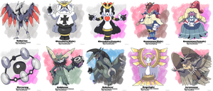 Fakemon Showcase by Phatmon