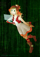 Cyberspace by roona-chan
