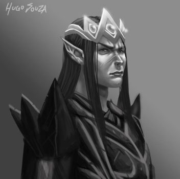 Morgoth by Hugo-Souza