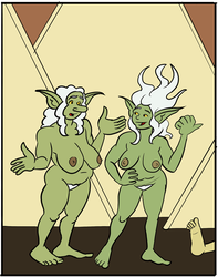 Spun Off Page 80, in progress, panel by Reinder