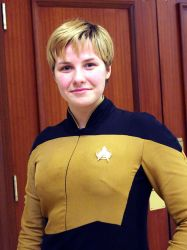 Lieutenant Tasha Yar  Anime Boston 2013 by geekypandaphotobox