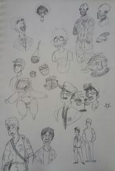 Doodles by Skylord-Charizard