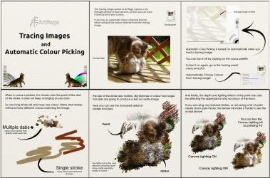 Tracing in ArtRage: Automatic Color Picking by ArtRageTeam