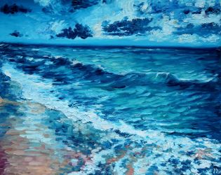 The sea in impressionism by NarMattary