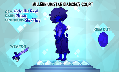 MSD Court: Night Blue Pearl by Pomihei
