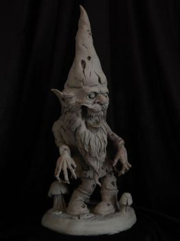 Zombie-Garden-Gnome-finishe by Blairsculpture