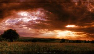 End of a good day panorama HDR by c1p0