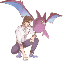 A Man and His Crobat Commission
