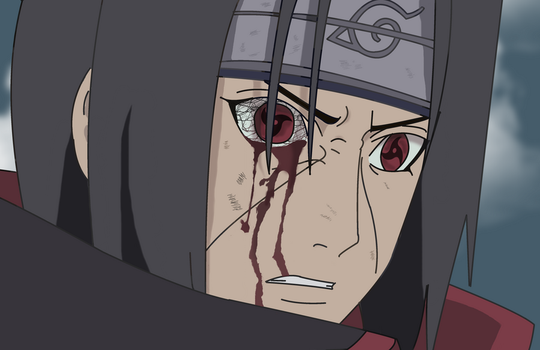 Uchiha Itachi's wrath by laserCrome