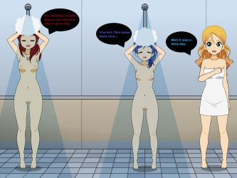 Shower Time by TheReaperProject