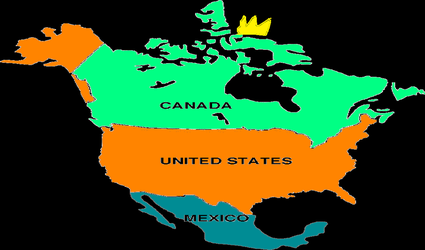 King north america by ArnoldTheBoy
