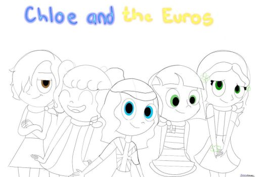 Chloe amd the euros request by ZaireneArtistic