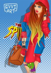 Spidergirl by Evviart01