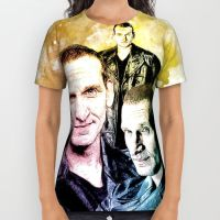 All Over Print Shirt inspired by Doctor Who by Purshue