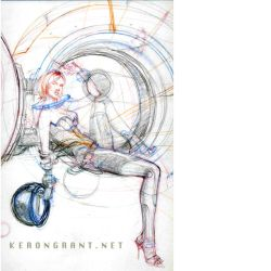 Space Woman by Kerong