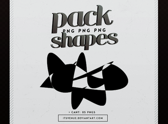 shapes | pack png by itsvenue