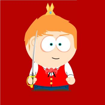 Prince Edward as South Park Character by AskEnglishPrince