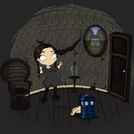 Addams Who? - Episode related T-Shirt by Licunatt