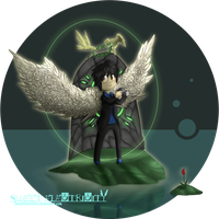 .: Angel without wings :. (Birthday Gift) by SweetElectricity