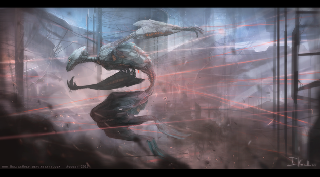 The  Chase by HeliacWolf