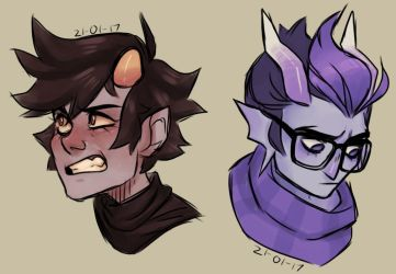 expression practice by clovrcats
