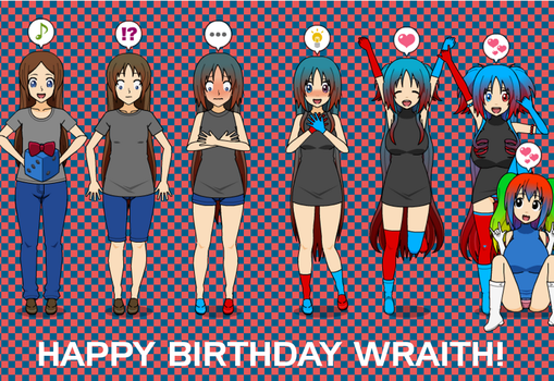 Happy Birthday Wraith! Nintendo Switch Tan TF TG by greenflame456