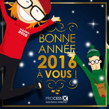 Bonne annee 2016 by Agence-Web-Processx