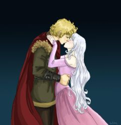 Prince Lir and Lady Amalthea by Dralamy