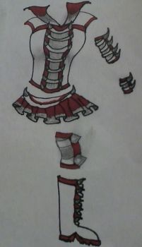 Sailor Rosel Fuku by TheAnomally