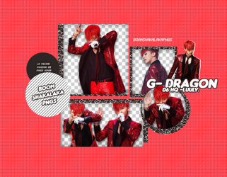 +G-Dragon Pack png 240 Boom Shakalaka Png's by WrappedInPolythene