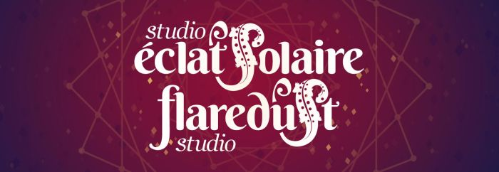 flaredust studio new logo by Mechamyu