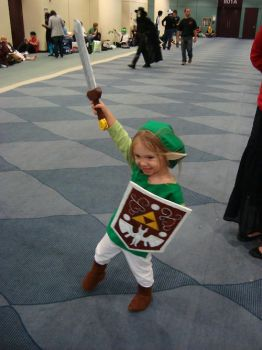Toon Link Cosplay by Knightfourteen
