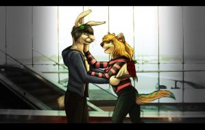 Vibrant Reunion - Commission by CrazyK913