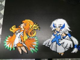 Moemon #10-11 Lugia and Ho-Oh by MagicPearls