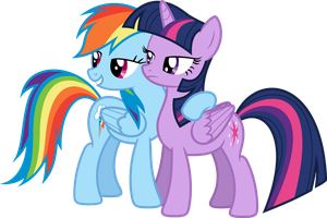 Dashie and Twi 2 by xPesifeindx