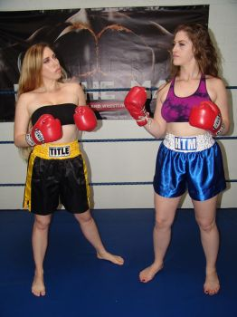 Boxing Girls Versus by boxingwrestling