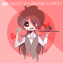 My Heart is Forever Your's ! by FangirlOtakuGirl