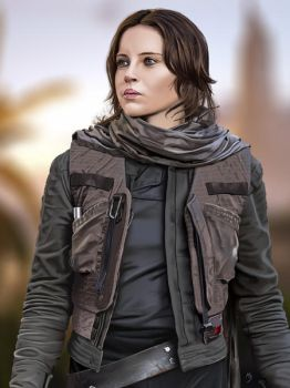 Jyn Erso by MASbartlett