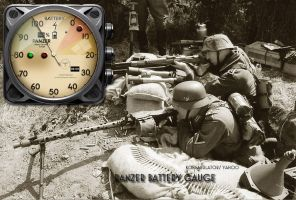 Panzer Battery Gauge Yahoo Widget by yereverluvinuncleber