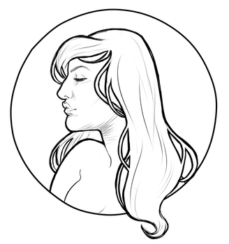 Mucha Girl by Karasdraws