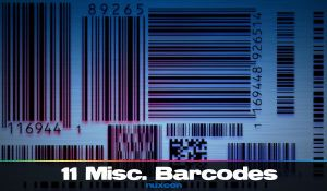 Barcode Brushes by nuxeon