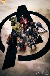 ''The Avengers: Age of Ultron'' poster (clear) by AndrewSS7