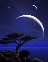 Moons Over Cypress by richmerk