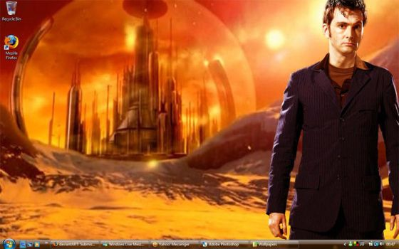 Dr Who wallpaper 2 by ShadowRangerBlue