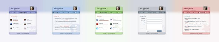 ID Page Web Design by JJ-Ying