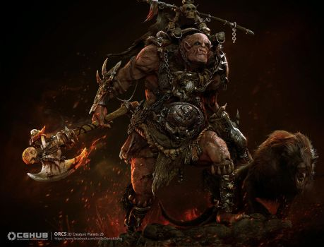 CGhub Orc Challeng by derrickSong