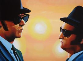 The Blues Brothers by PaulMeijering