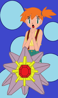 Misty Starmie Colored by TheWalrusclown