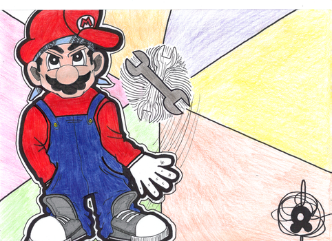 Gangsta Super Mario by Armand2