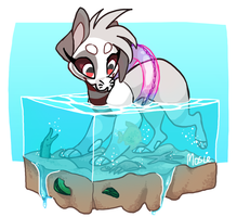 Sock And The Sealife by MosieMonster